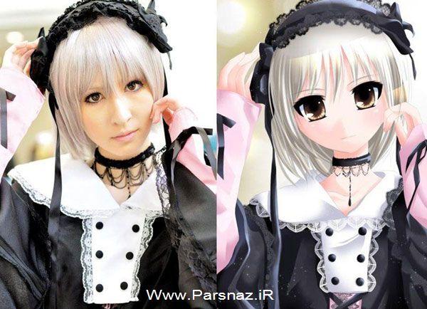 www.parsnaz.ir - عکس های دیدنی از دخترانی شبیه شخصیت های کارتونی