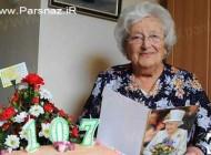 رازهای طول عمر این خانم 107 ساله از زبان خودش (عکس)