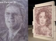 عکس هایی از اثرهای باورنکردنی یک هنرمند تنها با یک اتو
