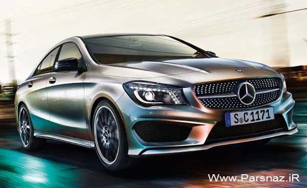 عکس های جدید از اتومبیل مرسدس بنز CLA
