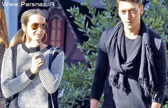www.parsnaz.ir - فوتبالیست رئال مادرید با خواننده آلمانی ازدواج کرد (عکس)