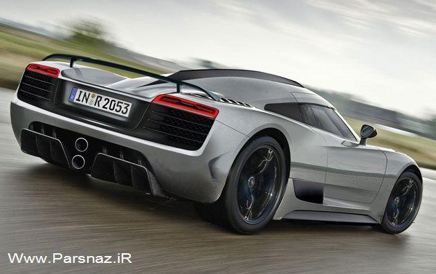 www.parsnaz.ir - جزئیات جدید از اتومبیل زیبای سوپر اسپرت آئودی (عکس)