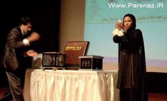 این خانم ایرانی یکی از رقیبان سرسخت کریس آنجل است!