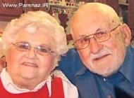 این زوج جدا ناپذیر حتی توسط مرگ از هم جدا نشدند (عکس)