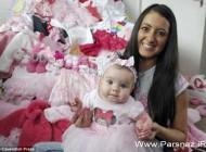 کوچکترین دختری که یک ستاره جهانی در رسانه ها شد