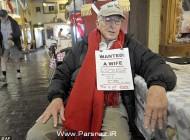 وقتی که یک پیرمرد 82 ساله به دنبال همسر باشد (عکس)