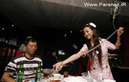 عکس های دیدنی از عجیب ترین رستوران جهان در چین 1