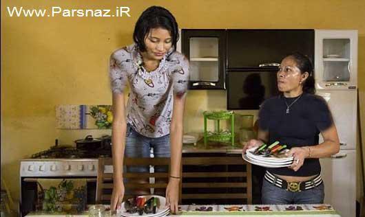 زندگی جدید قدبلندترین دختر دنیا با نامزدش! (عکس)