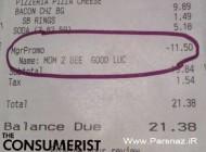 هدیه جالب مدیر یک رستوران آمریکایی به یک خانم باردار