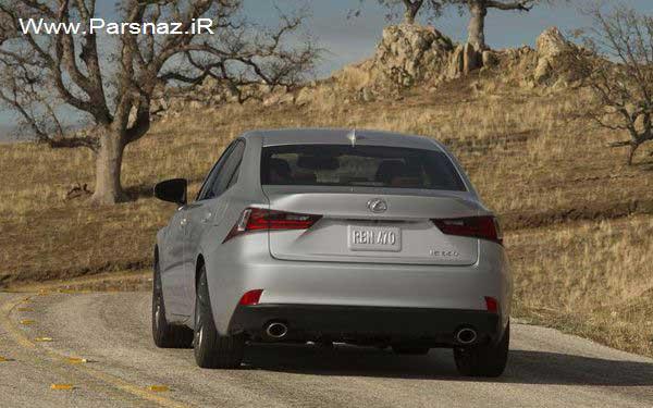 www.parsnaz.ir - قیمت گذاری اتومبیل لکسوس IS مدل 2014 (عکس)