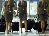 اعتراض زنان مهماندار در خطوط هوایی کره جنوبی!!