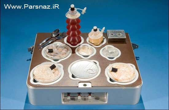 غذای فضانوردان در خارج از اتمسفر زمین چیست؟ (عکس)