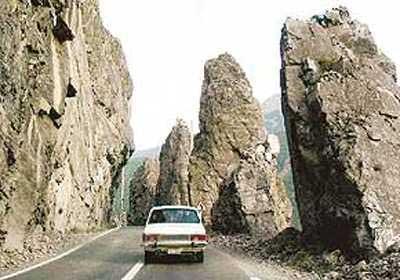 تصاویری از ده جاده زیبا در کشور ایران