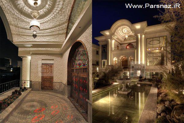 تصاویر خانه های زیبا در تهران
