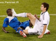 پسر فوتبالیست معروف زیدان مثل پدرش اخراج شد (عکس)