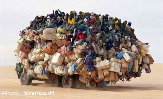عکس های بسیار خنده دار و دیدنی از کشور آفریقا