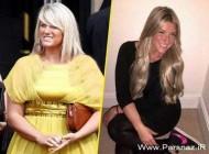 اندام خواهر دیوید بکهام قبل و بعد از رژیم (عکس)
