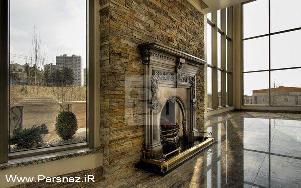 عکس های دیدنی از این خانه رویایی در تهران