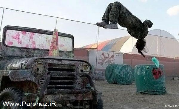عکس های مهسا احمدی اولین دختر بدلکار حرفه ای در ایران
