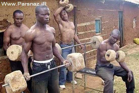 www.parsnaz.ir - عکس های بسیار خنده دار و دیدنی از کشور آفریقا