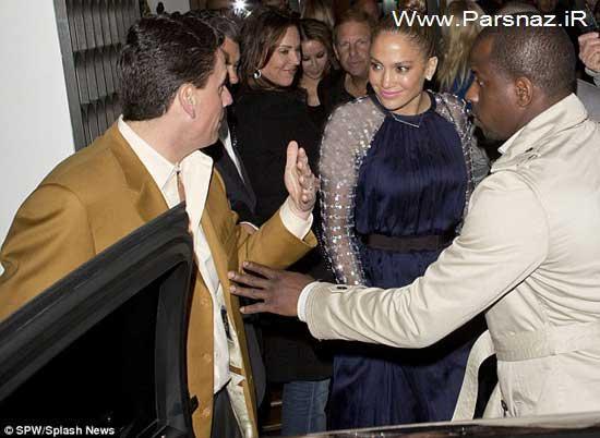 حیرت مردم از لباس جدید جنیفر لوپز در مراسم جشنواره گرمی
