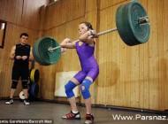 این دختر کوچک قوی ترین وزنه بردار جهان است! (عکس)