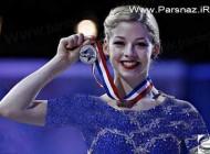 حضور موفق دختر جوان آمریکایی در مسابقات اسکیت (عکس)