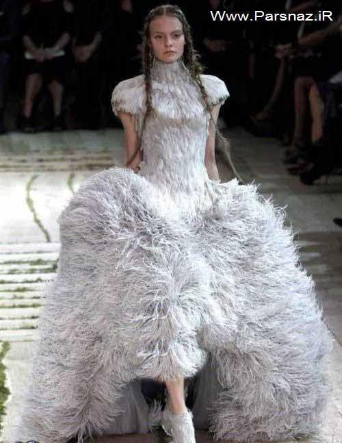 عکس های جالب از عجیب ترین مدل لباس های زنانه در جهان