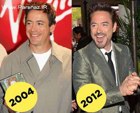 عکس های بازیگران معروف دنیا که به هیچ وجه پیر نمی شوند