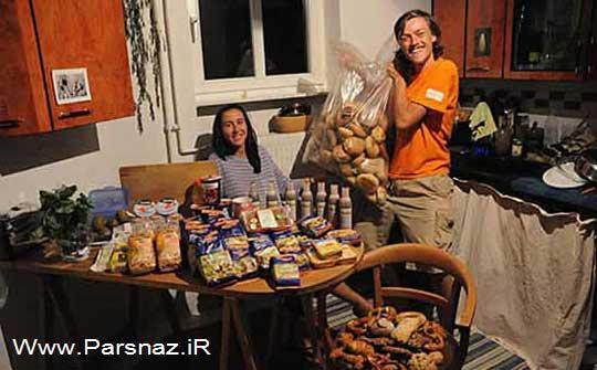این خانواده عجیب از پول بدشان می آید! (عکس)
