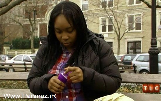 اعتیاد عجیب این دختر به خوردن مواد شیمیایی (عکس)