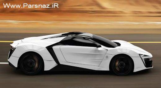 ماشین سوپر اسپرت زیبا ساخت کمپانی اعراب (عکس)