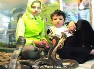 این دختر شجاع ایرانی 12 ساعت در آکواریوم مرگ بود (عکس)