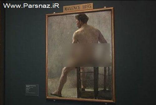 افراد برهنه در موزه در شهر وین پایتخت اتریش! (عکس)