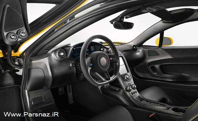 عکس و جزئیات دوست داشتنی اتومبیل مک لارن P1