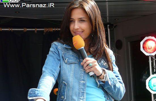 این دختر ایرانی مجری مشهور تلویزیون آلمان است (عکس)