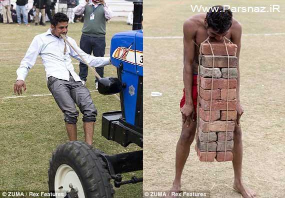 عکس های دیدنی از کارهای عجیب و غریب مردم هند