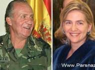 رسوایی دختر پادشاه اسپانیا در فساد بزرگ مالی!