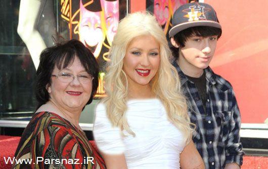 عکس های سوپر استارهای معروف دنیا به همراه مادرانشان