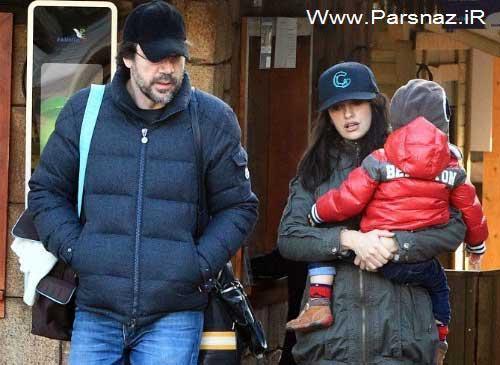 پنلوپه کروز و شوهرش دو بازیگر معروف در انتظار دومین فرزند
