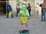 عکس هایی از انسان هایی که بدون وسیله به هوا میروند