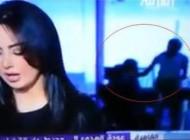 صحنه غیراخلاقی هنگام پخش زنده در شبکه العربیه! (عکس)