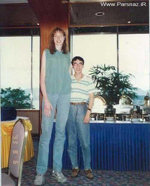 عکس های دیدنی از زندگی بلند قدترین خانم های دنیا