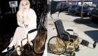 ویلچر سفارشی و بسیار گران قیمت لیدی گاگا (عکس)