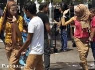 آمار وحشتناک آزار و اذیت دختر خانم ها در مصر (عکس)