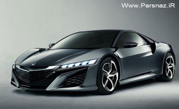 آغاز پیش فروش اتومبیل زیبای هوندا ان اس ایکس (عکس)