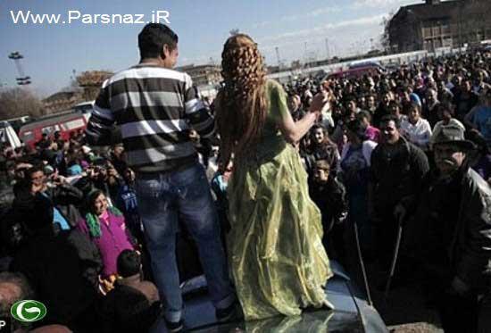 بازاری برای خرید و فروش دختران در بلغارستان+ عکس