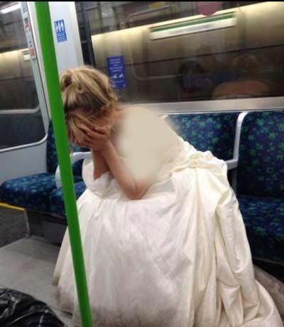 عکس های خنده دار از دیوانه ترین عروس و دامادهای جهان!