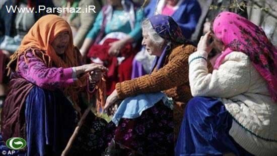 فروش دختران زیبا و جوان در بازار بلغارستان (عکس)