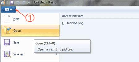 ترفند و آموزش تصویری کم كردن حجم عكس در paint